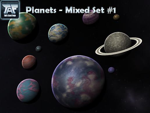 Planets - Mixed Set #1