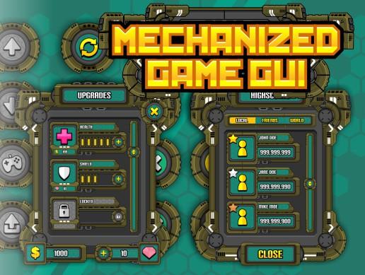 Mechanized Game GUI v1.0