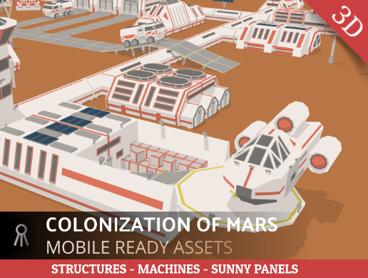 Colonization of Mars (version1.5 of the scientific station)
