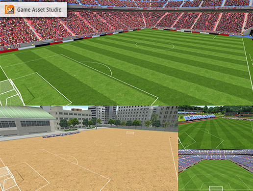 Soccer Stadiums Extension Pack
