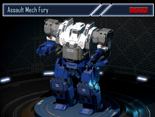 Assault Mech Fury