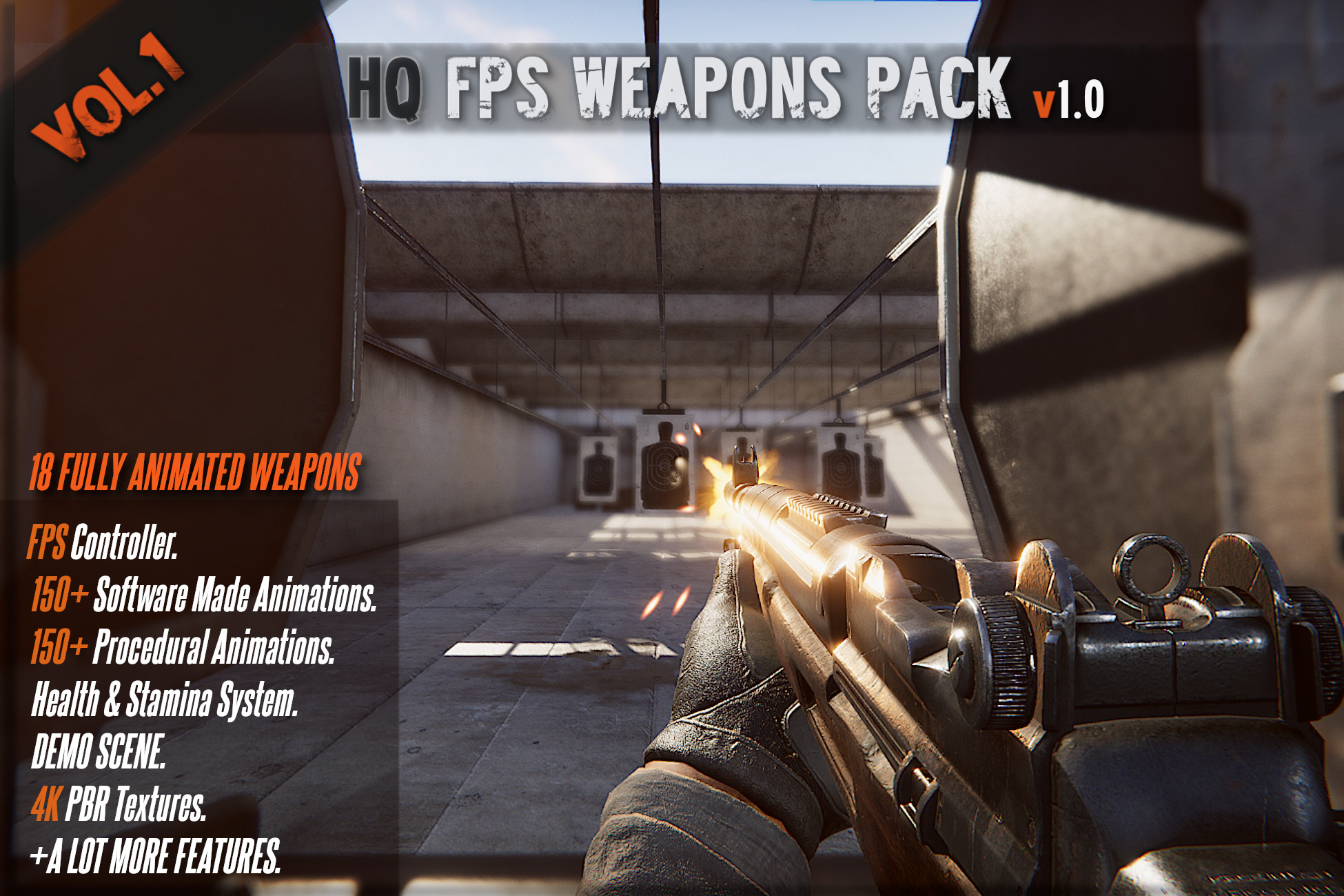 HQ FPS Animated Weapons Vol.1