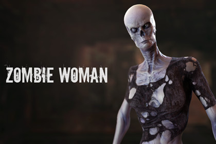 HQ Zombie Woman