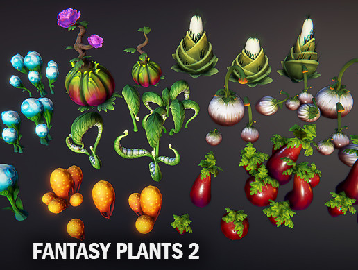Fantasy plants 2