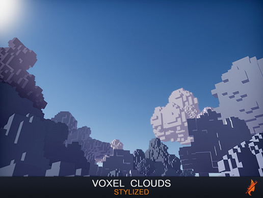 Stylized Voxel Clouds