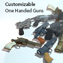 Customizable One Handed Guns
