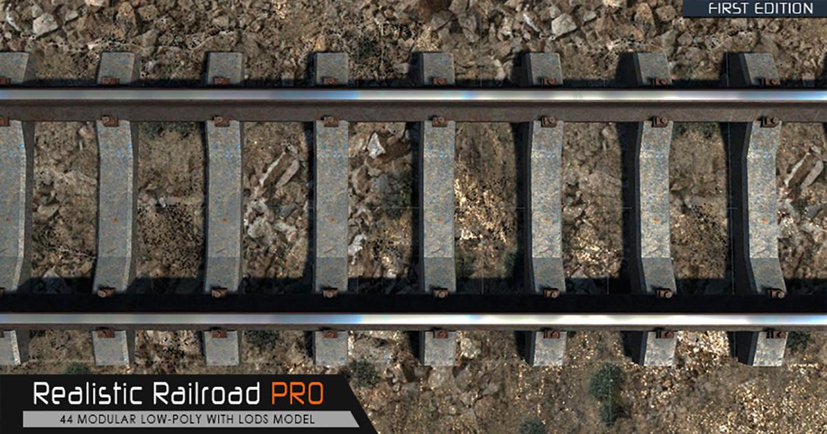 Realistic Railroad Pro
