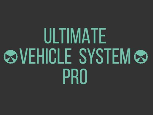 Vehicle System Pro