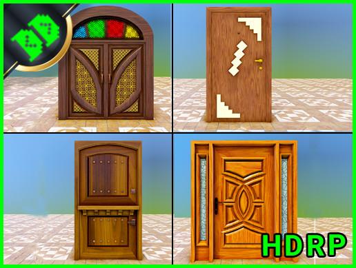 Door Pack 1 HDRP