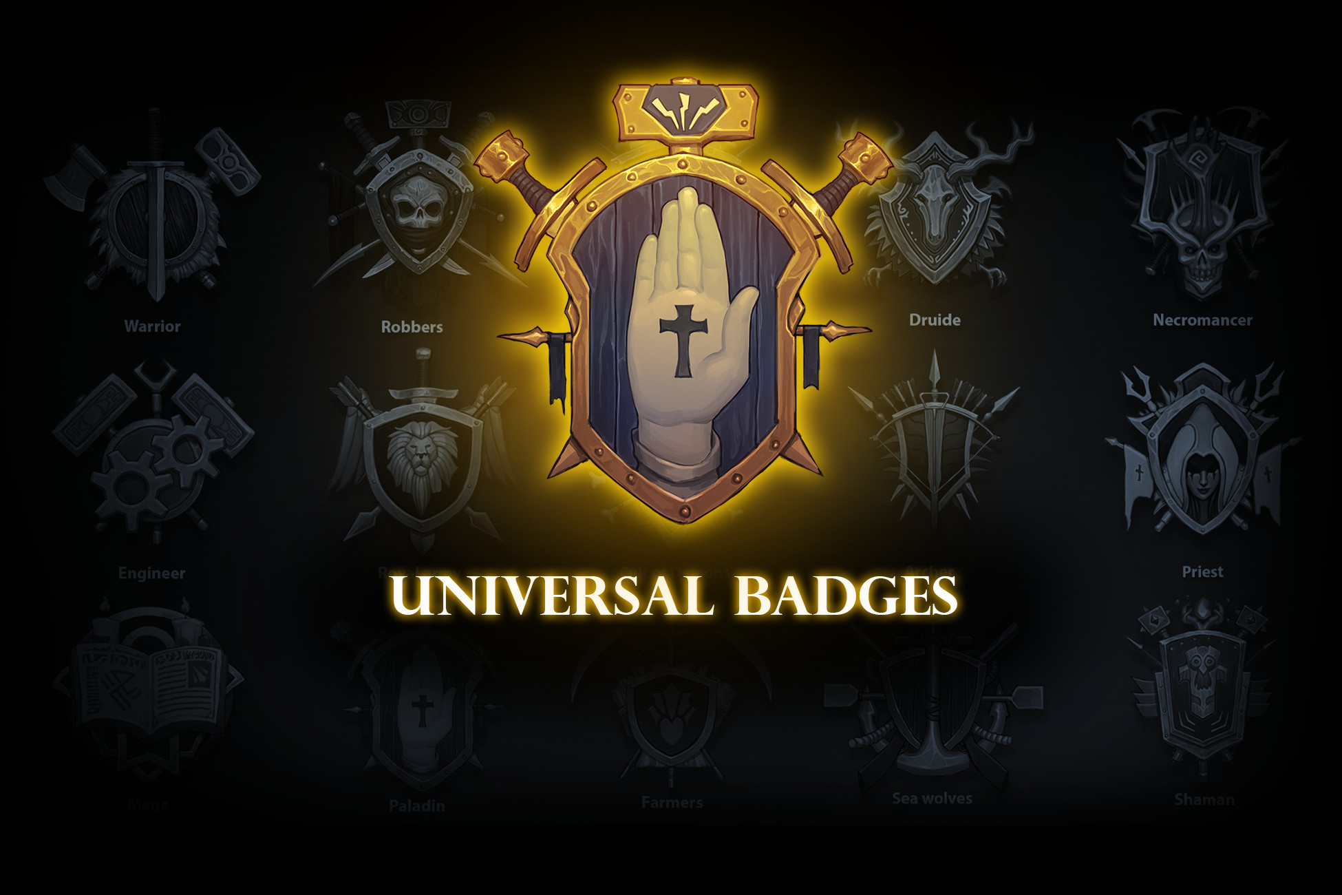 Universal Badges pack