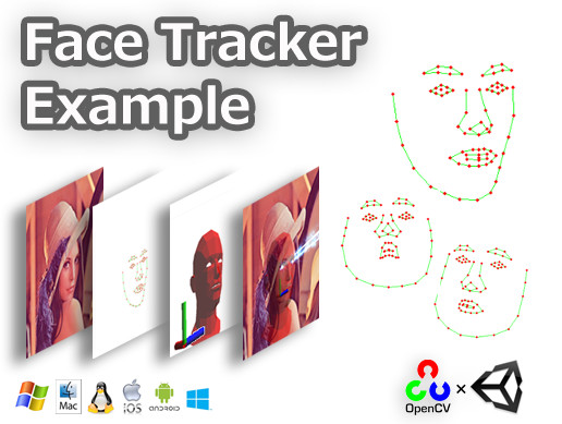 FaceTracker Example - Asset Store