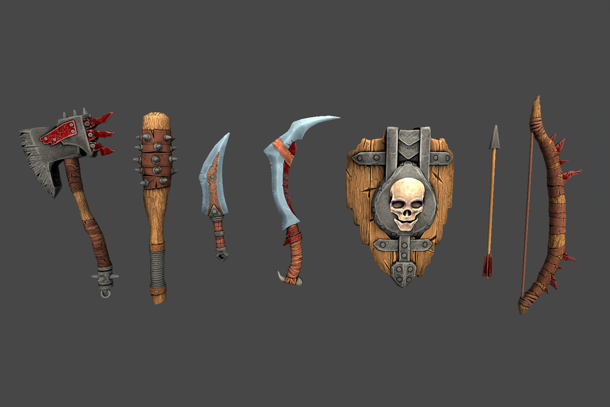 Orc Weapon Pack