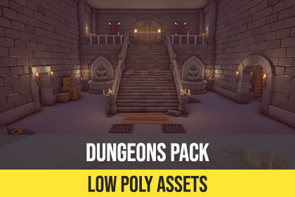 Low Poly Dungeons