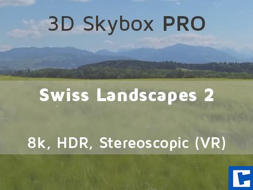 3D Skybox PRO - Swiss Landscapes 2