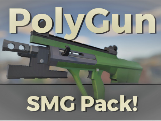 PolyGun Modern SMG Pack