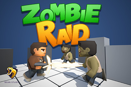 Zombie Raid - Top down shooter survival