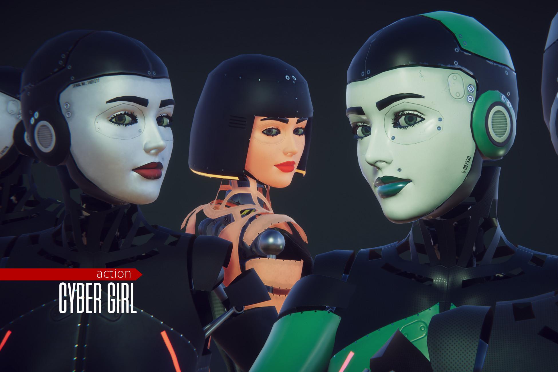 cyberpunk - Cyber Girl