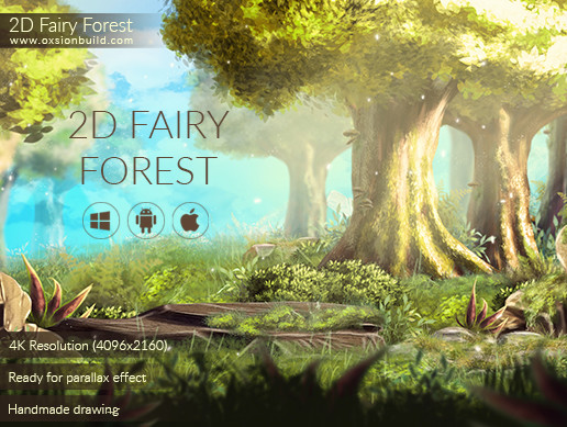 2D Fairy Forest