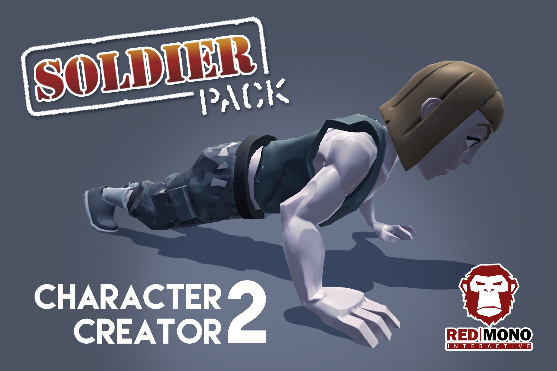 Character Creator 2 - Soldier Pack