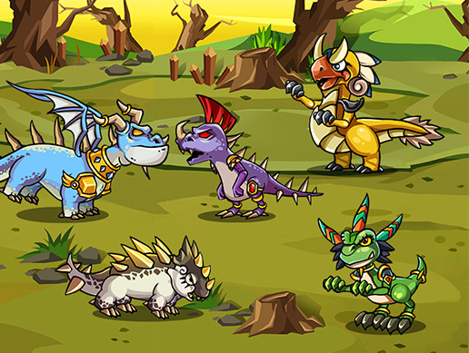5 Dragons Pack 1
