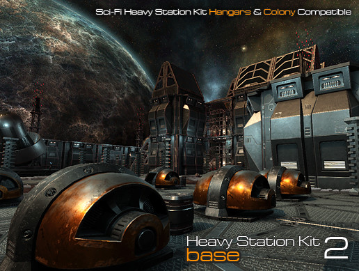 Sci-Fi Heavy Station Kit base