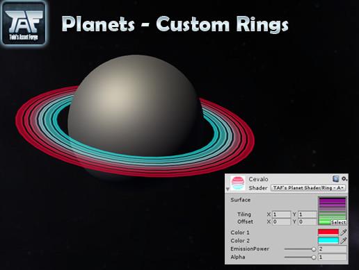Planets - Custom Rings
