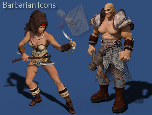 Fantasy Adventurers Vol 4 - Barbarians