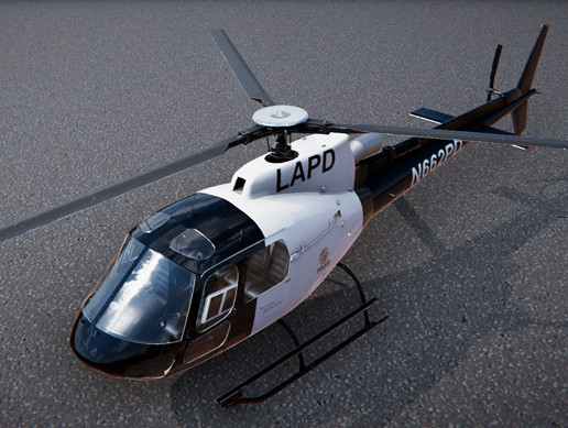 Police Eurocopter AS350