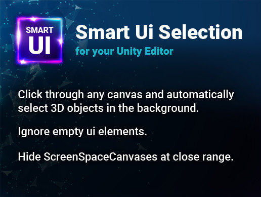 Smart Ui Selection - Unity Editor