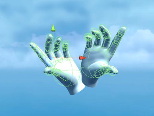 VR Hand Physics (Oculus Avatar Hand Collisions)