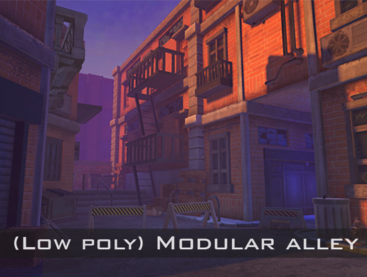Urban Stylized Modular Alley Pack