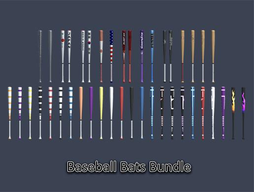 Sports Pack - Baseball Bats Bundle