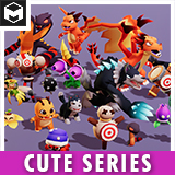 Monsters Ultimate Pack 02 Cute Series