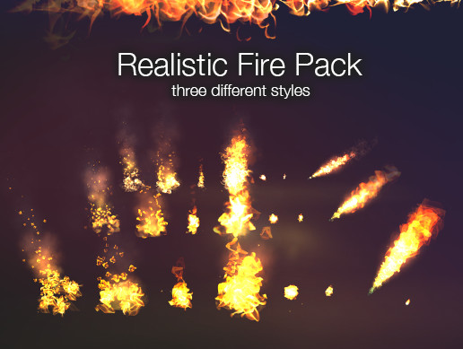 Realistic Fire VFX