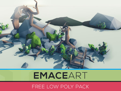 Free Low Poly Nature Project Pack 2 Swamp - Asset Store