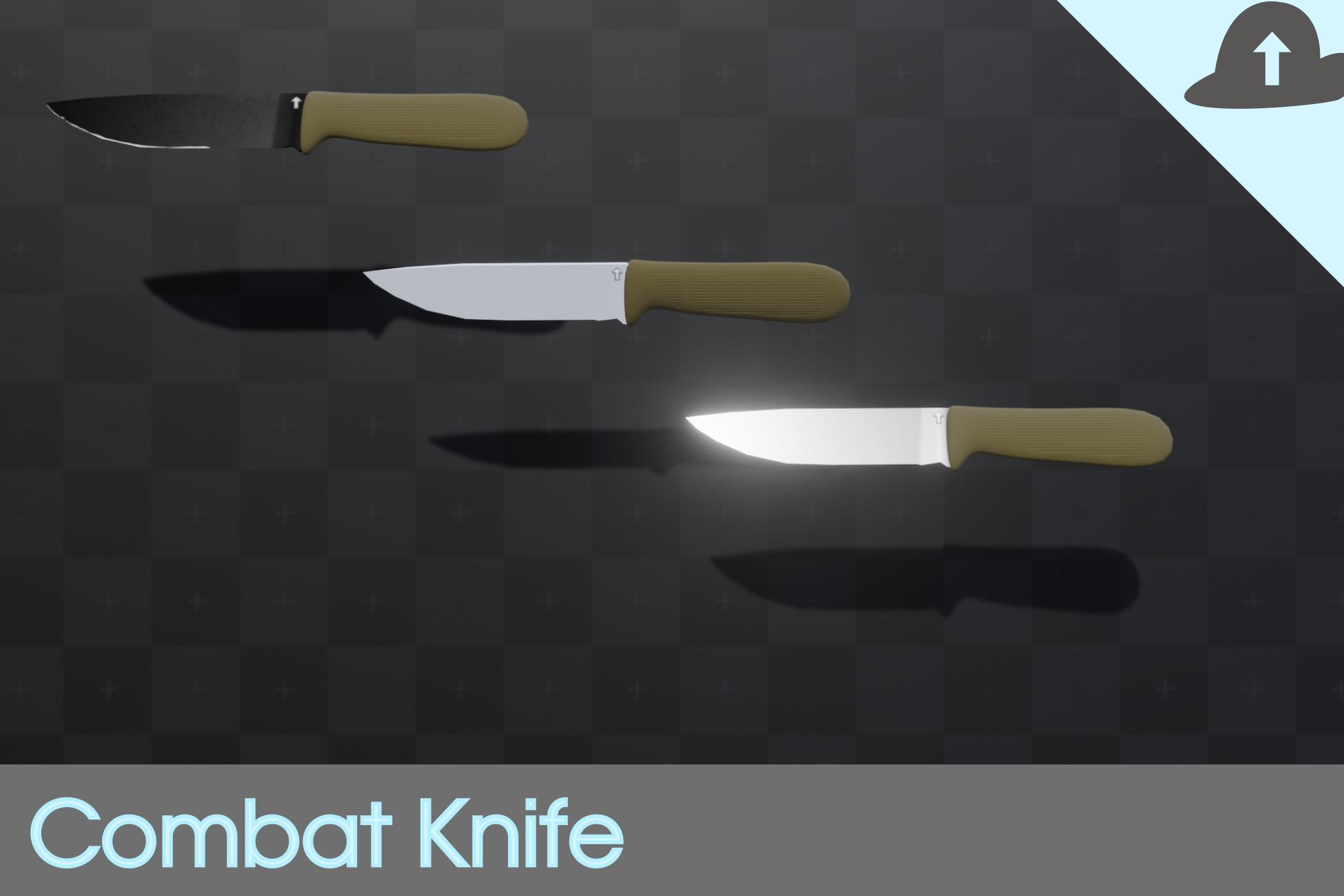 [Free] Modern Combat Knife
