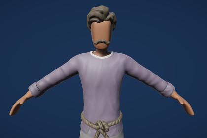 Modular Fantasy Character