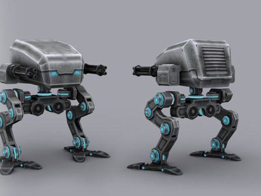 SCI FI: ASSAULT ROBOT