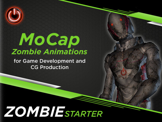 ZOMBIE Starter: MoCap Animation Pack