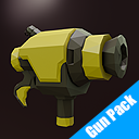 1UP LOWPOLY - Gun Pack