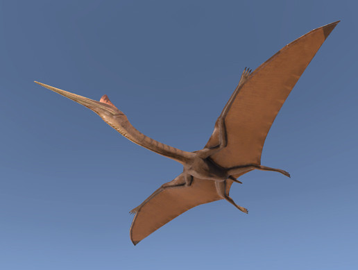 Quetzalcoatlus pterosaur
