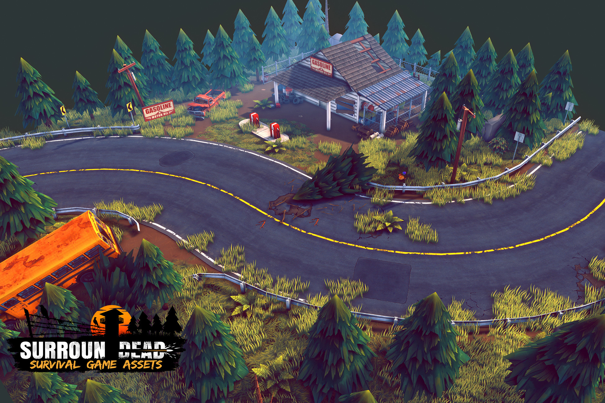 SurrounDead - Survival Game Assets v3.5
