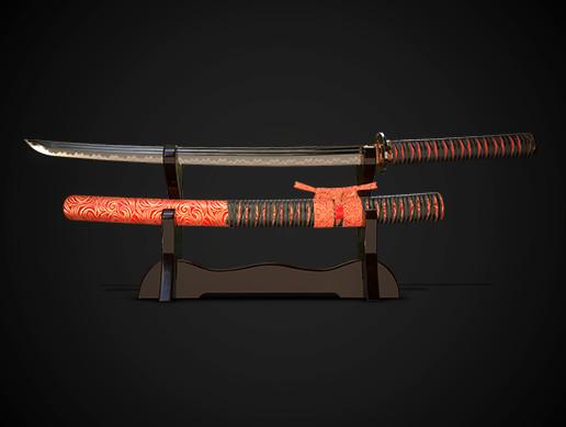 Samurai sword wakizashi No.03