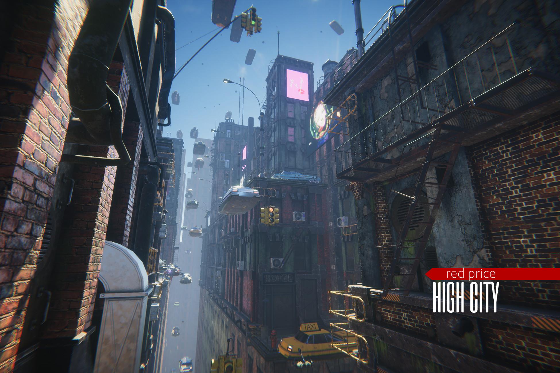 cyberpunk - High City