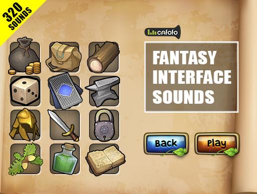 Fantasy Interface Sounds