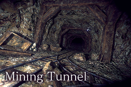 Mining Tunnel - Map Series 2 -