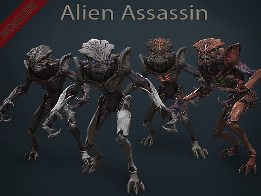 Monsters - Alien Assassin