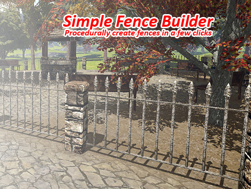 Simple Fence Builder