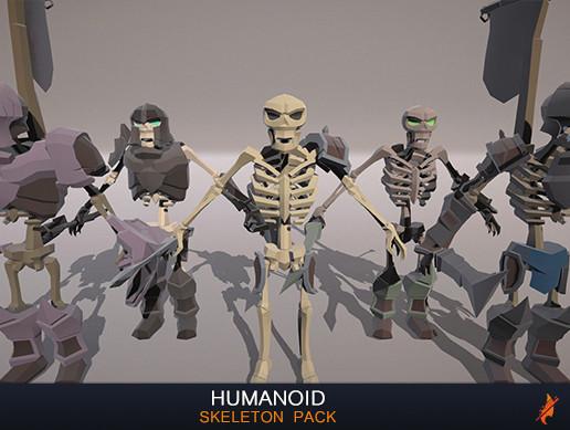 Humanoid Skeletons