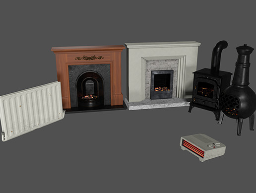 Fireplace & Heaters Pack